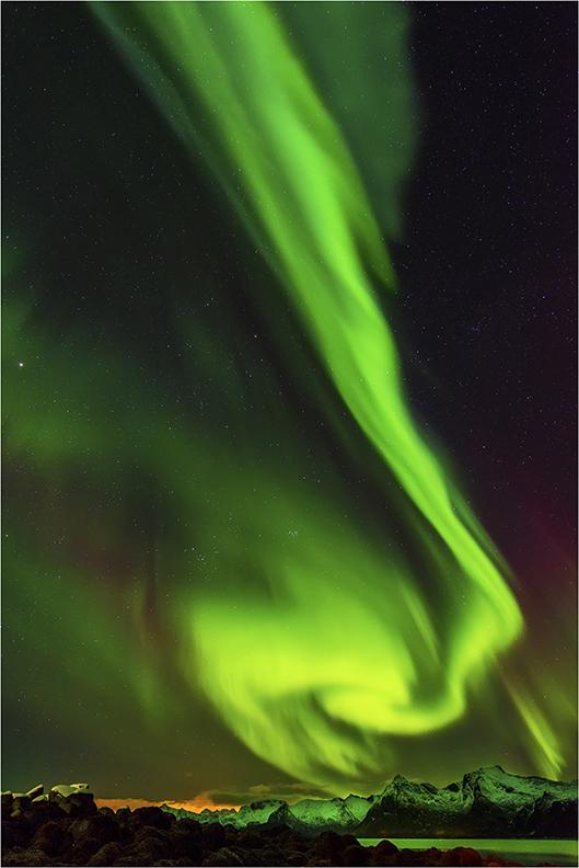 Aurora Borealis - Lofoten Islands, Norway