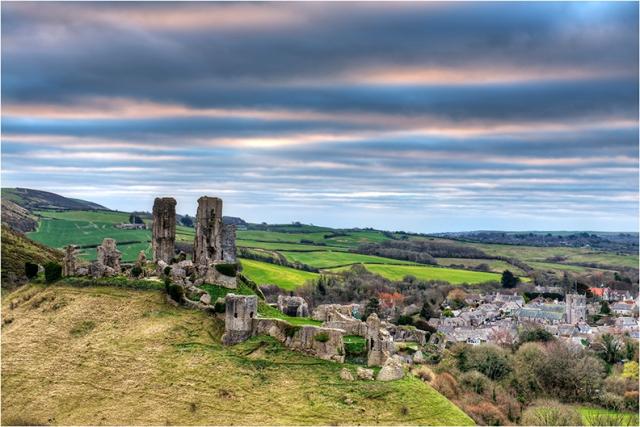 Corfe Castle Ruins - Greg Earl