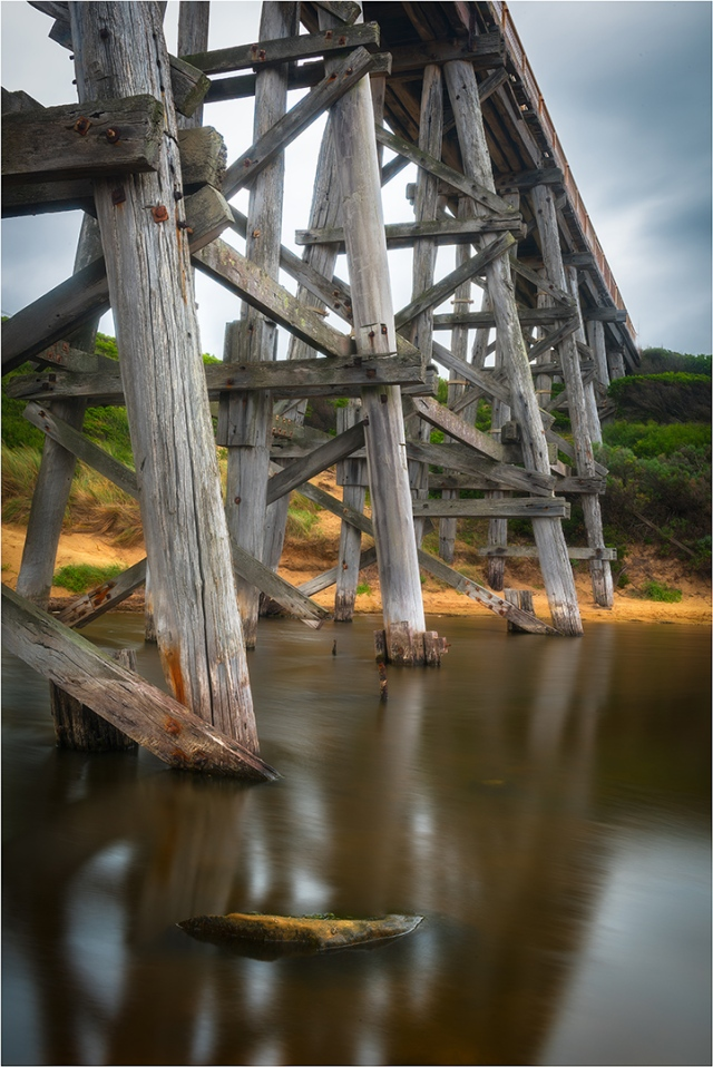 Trestle Bridge at Bourne Creek
